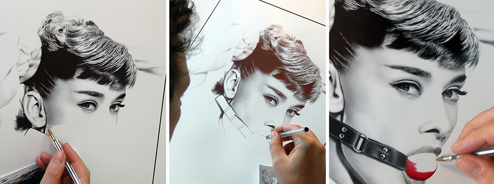 audrey-hepburn-ball-gag-progress-art