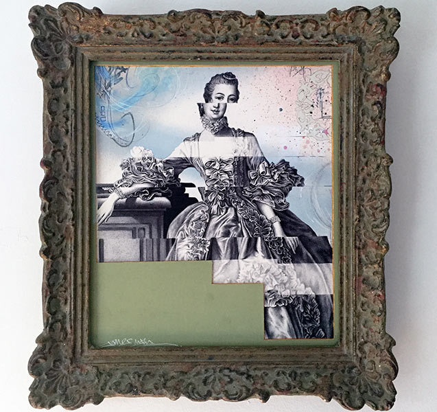 Litte-Rococo-Glitch-Up-framed